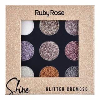 Glitter Cremoso Ruby Rose Hb8407/G