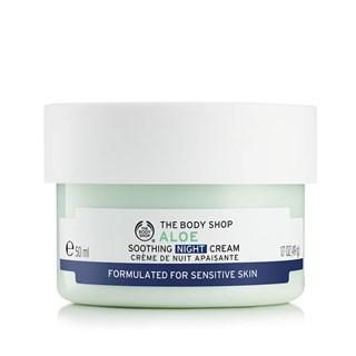 Hidratante Facial Calmante Noturno The Body Shop Aloe Vera 50ml