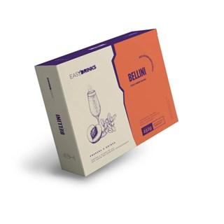 Kit 6 Saches Bellini Pêssego Easy Drinks 252g