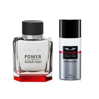 Kit Antonio Banderas Pg Ab Power Of Seduction Edt Masculino + Deo