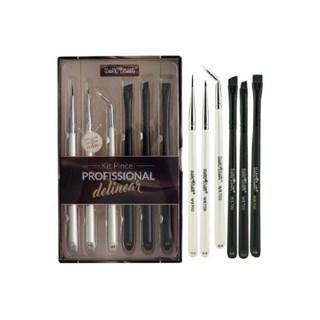 Kit de Pincel Macrilan Delinear HB700