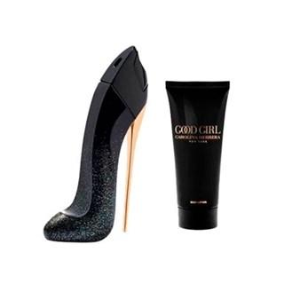 Kit Perfume Carolina Herrera Good Girl Suprême Edp Feminino + Body Lotion
