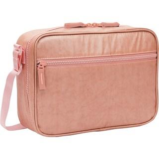 Lancheira Com Alca Sestini Lunch Metalica - Pink