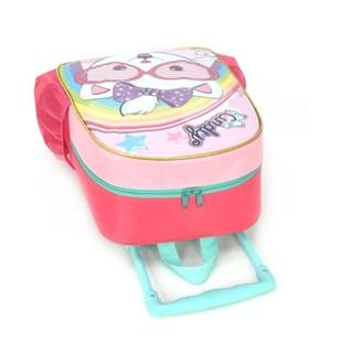 Mochila Escolar Infantil com 1 Compartimento Cindy