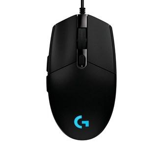 Mouse Gamer Logitech Lightsync G203 8000 dpi RGB Preto