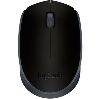 Mouse Logitech Wireless M170 Preto/Cinza