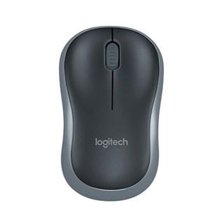 Mouse Logitech Wireless M185 Preto/Cinza 910-002225