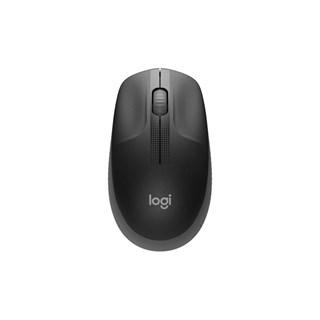 Mouse Logitech Wireless M190 Preto/Cinza