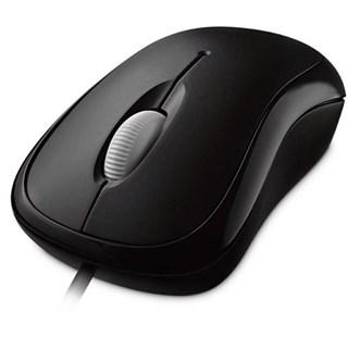 Mouse Microsoft USB Basic P58-00061 Preto