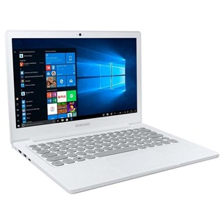 "Notebook Samsung Flash Branco F30 Celeron N4000, Windows 10 Home, 4Gb, 128Gb Ssd, 13.3"""
