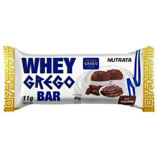 Nutrata Whey Grego Bar Brigadeiro 40g