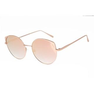Óculos De Sol Feminino Chilli Beans Banhado A Ouro Rose
