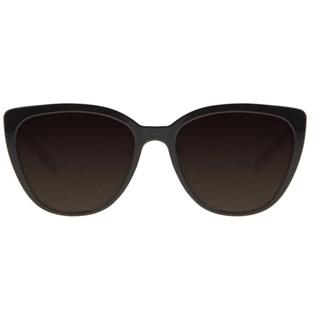 Óculos De Sol Feminino Chilli Beans Casual Redondo Marrom