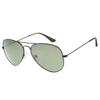 Óculos De Sol Unissex  Chilli Beans Aviador Preto Polarizado