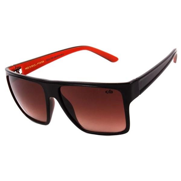 Óculos De Sol Unissex Chilli Beans Quadrado Essential Fosco Marrom