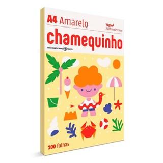 Papel Chamequinho A4 75g/m² 210 x 297mm 100Fls