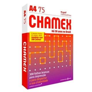 Papel Chamex A4 75g/m² 210 x 297mm Office Branco 300Fls
