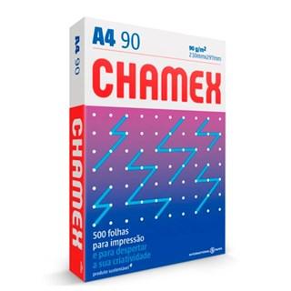 Papel Chamex A4 90g/m² 210 x 297mm Super Branco 500Fls