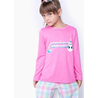 Pijama Puket Feminino Ml Kids Flanela Unicórnio Mystic
