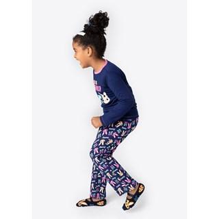 Pijama Puket Feminino Ml Kids Visco Eco Coelha Fam