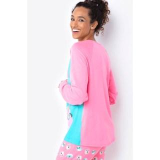 Pijama Puket Ml Adulto Visco Unicórnio