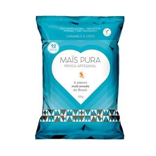 Pipoca Artesanal Mais Pura Caramelo e Coco 150g