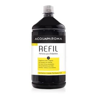 Refil Perfume Para Ambientes Acqua Aroma 1,1L Verbena e Limão Siciliano