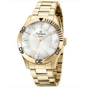 Relógio Champion Crystal Feminino Cn27214H - Dourado