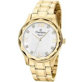 Relógio Champion Crystal Feminino Cn27465H - Dourado