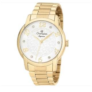 Relógio Champion Elegance Feminino Cn26224H  - Dourado