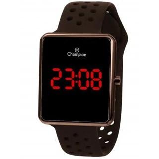Relógio Champion Marrom Digital Led - Ch40081M