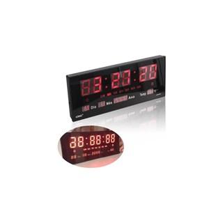 Relógio De Parede Luatek Led Digital Termômetro Alarme E Calendário LK3615