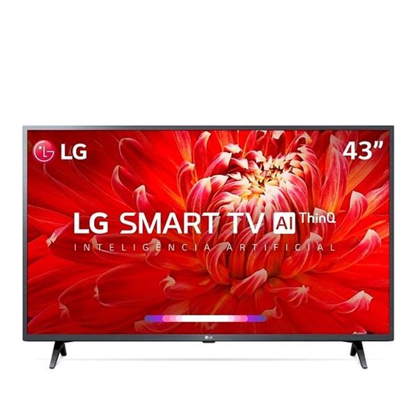 "Smart Tv LG 43"" LM6370 Full HD Compatível Com ThinQ AI Inteligência Artificial"