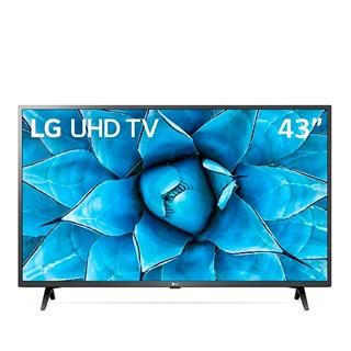 "Smart Tv LG 43"" UN7300 4k UHD Inteligência Artificial ThinQ AI Google Assistente Alexa"