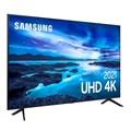 "Smart Tv Samsung 50"" AU7700 4K UHD Crystal Tela Sem Limites Visual Livre de Cabos Alexa Built In"