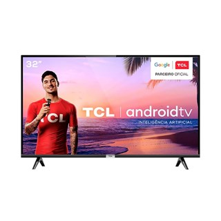 """Smart Tv TCL Led 32"""" S6500S HD Android Wi-Fi 2 HDMI 1 USB"""