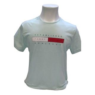 T-Shirt Malha Estampada Tommy Hilfiger