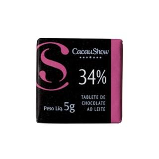 Tablete 34% Cacau Cacau Show 5g
