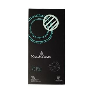 Tablete Bendito Cacao 70% Cacau Show 100g
