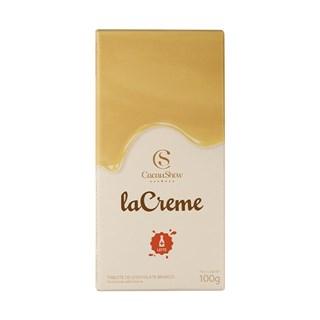Tablete Lacreme Branco Cacau Show 100g