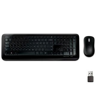 Teclado e Mouse Microsoft Wireless 850 Preto