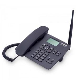 Telefone Aquário Celular Fixo CA42-S Preto