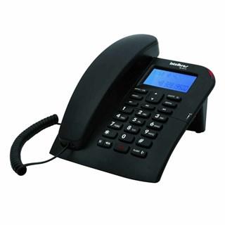 Telefone Fixo Intelbras c/Fio TC60 c/Identificador de chamadas Preto