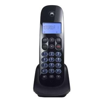 Telefone Fixo Motorola s/Fio Moto 750 Preto