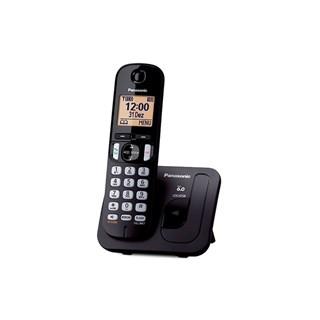 Telefone Fixo Panasonic s/Fio KX-TGC210LBB Preto