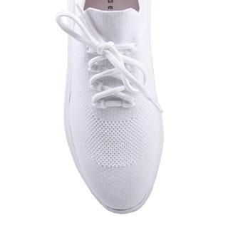 Tênis Jorge Bischoff Feminino Knit Branco I21