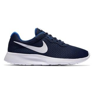 Tênis Nike Tanjun Masculino - Azul Royal e Branco 812654