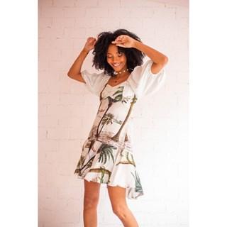 Vestido Com Decote coração Kal Laynne